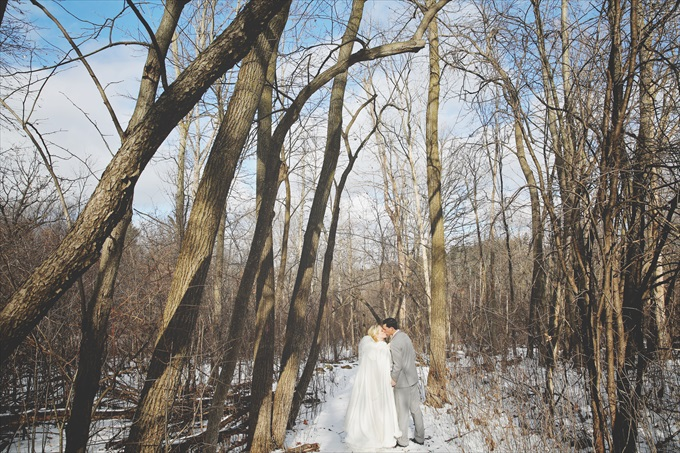 Gorgeous Winter Wedding at the Paint Creek Country Club! | http://www.emmalinebride.com/real-weddings/paint-creek-country-club-winter-wedding/ | photo: The Camera Chick - Metro Detroit Wedding Photographer
