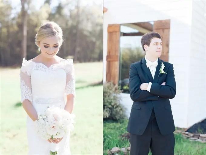 bride groom portraits | A Beautiful Sainte Terre Louisiana Wedding(Real Weddings) | http://www.emmalinebride.com/real-weddings/a-beautiful-sainte-terre-wedding-in-louisiana-real-weddings/ | Photo:  Photography by Micahla Wilson