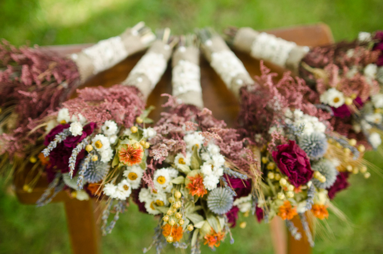 Dry flower bridal bouquets yellow wedding bouquet dried u preserved dried flower bouquets izmirmasajfo Choice Image