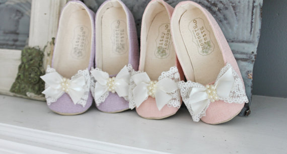 flower girl shoes 2