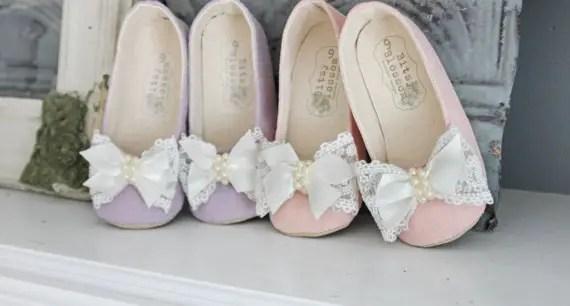 flower girl shoes 2