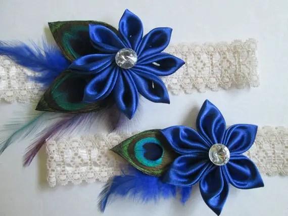 sapphire garter by nakedorchidgarters