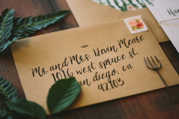 Rustic and Whimsical Garden Wedding Invitation - 3