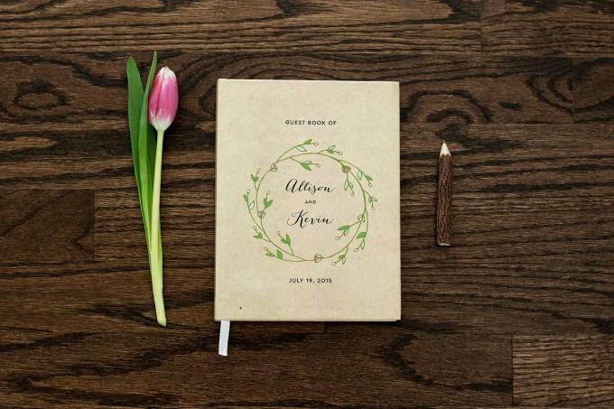 wedding guest book regular guest book