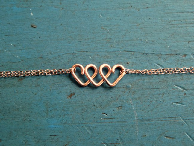 be my bridesmaid heart bracelet