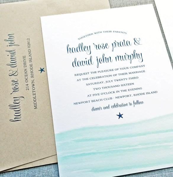 Beach Wedding Invitations / Ideas? – Ask Emmaline