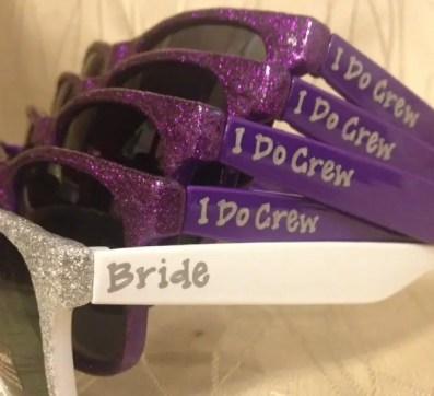 bride and i do crew sunglasses