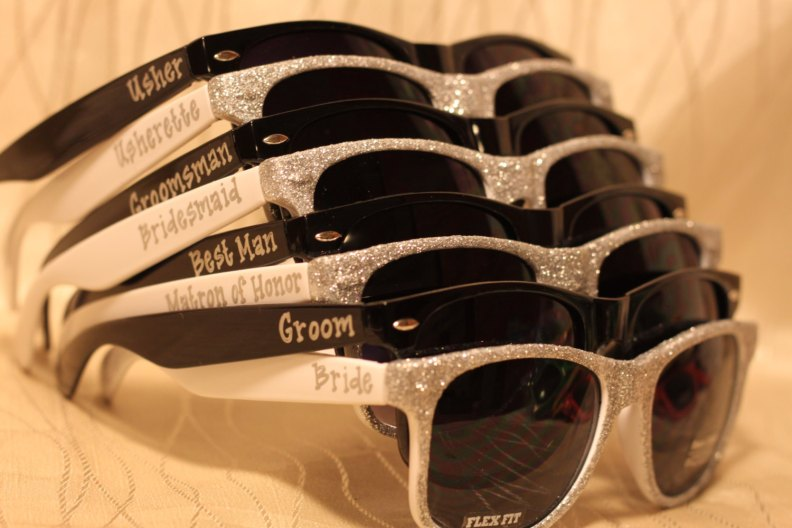 wedding sunglasses for photos