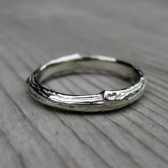 Bargain Wedding Rings 87 Simple branch wedding band in