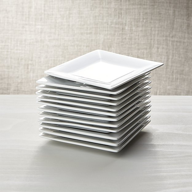 boxed appetizer plates | 9 Things I Wish Had Registered For | http://emmalinebride.com/planning/9-things-wish-had-registered-for/