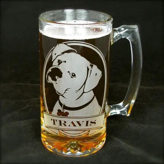 boxer beer stein