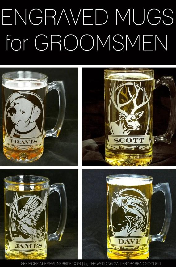 engraved mugs for groomsmen