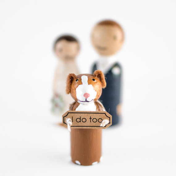 i do too cake topper | peg doll cake topper