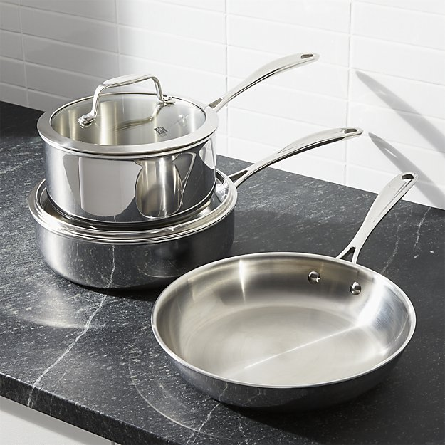 stainless steel cookware   9 Things I Wish Had Registered For   http://emmalinebride.com/planning/9-things-wish-had-registered-for/