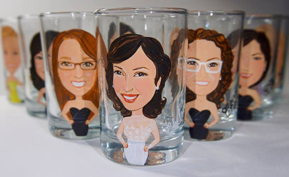 Shot Glasses Bridesmaids & Groomsmen Will Love