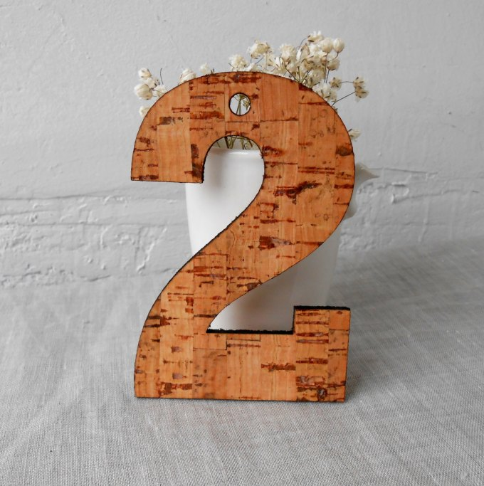 cork table number