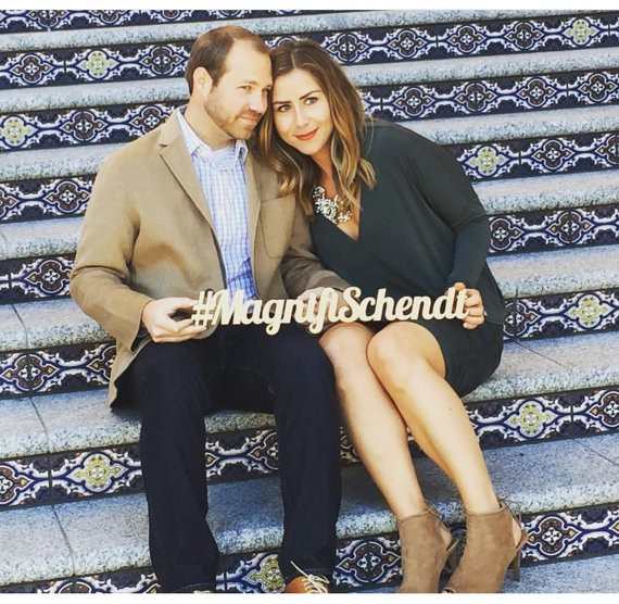 wedding hashtag sign via 26 Things Guests Love at Weddings from A to Z   http://emmalinebride.com/planning/things-guests-love-at-weddings/ 