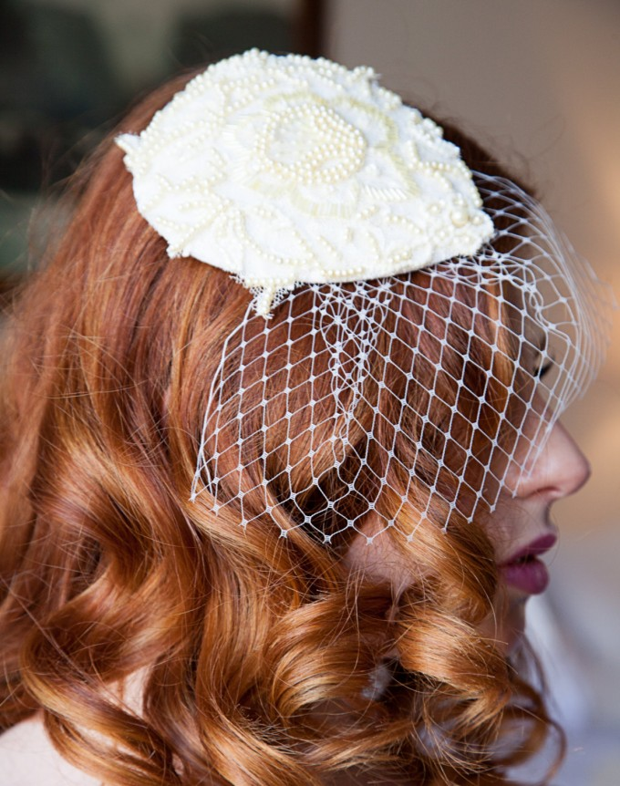 How to Pick a Veil or Fascinator | veil by OBM Bridal | http://emmalinebride.com/bride/how-to-pick-a-veil-or-fascinator/