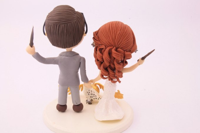 Harry Potter Cake Topper Figurines
