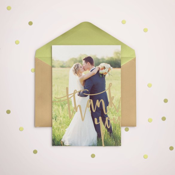 Thank You Card by Salsal Design