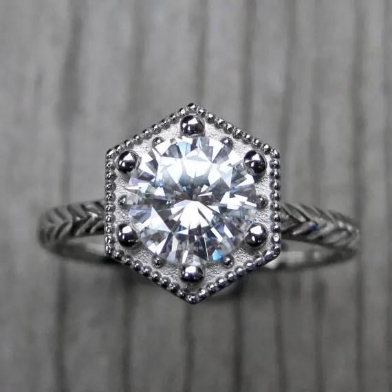 hexagon-engagement-ring
