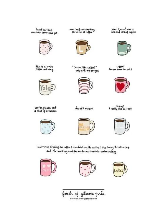 roaringsoftly-coffee-of-gilmore-girls-print