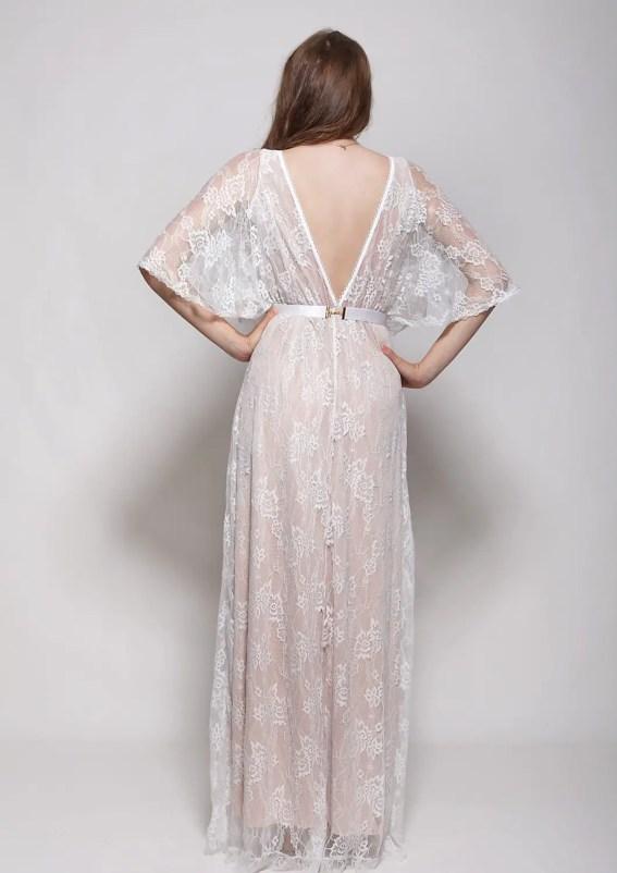 lace-deep-v-wedding-dress-back