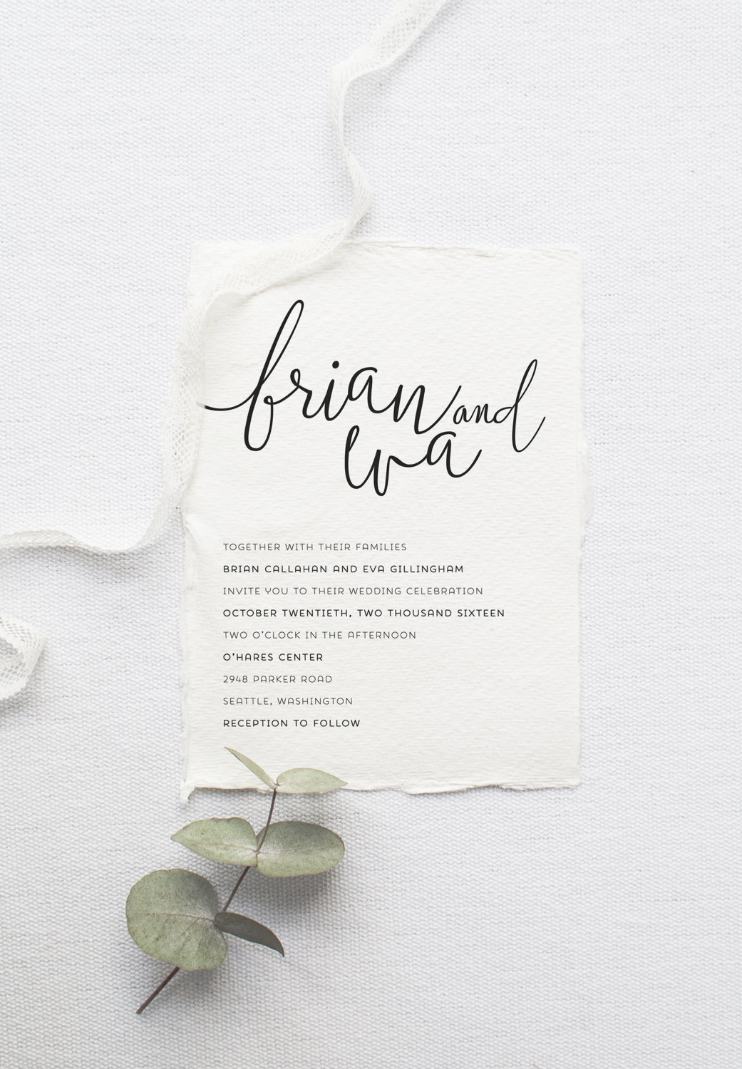 Printable Wedding Invitation Collection By Splash Of