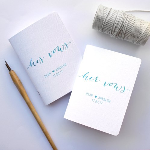 Wedding Vow Books
