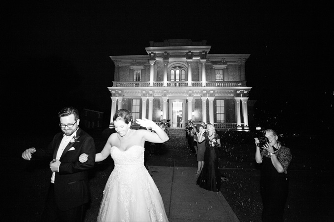 Two Rivers Mansion Wedding in Donelson Tennessee | Photo: LMR Photos
