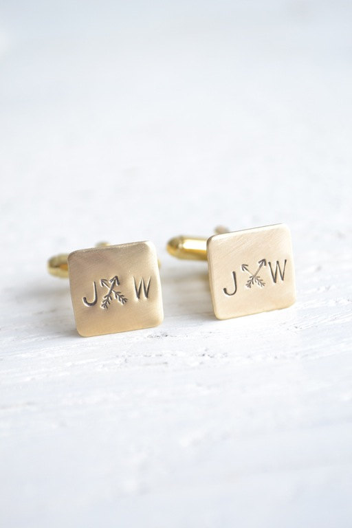 arrow cufflinks | via Heart and Arrow Wedding Ideas: http://emmalinebride.com/themes/heart-and-arrow-wedding-ideas