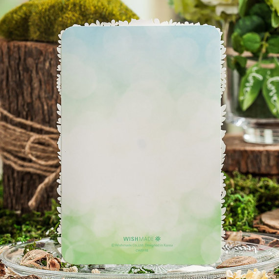 garden wedding invitations by paper bound love