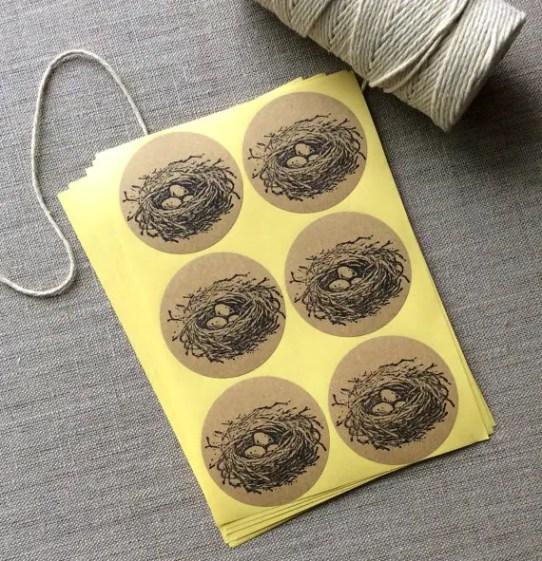 bird-nest-wedding-favor-stickers