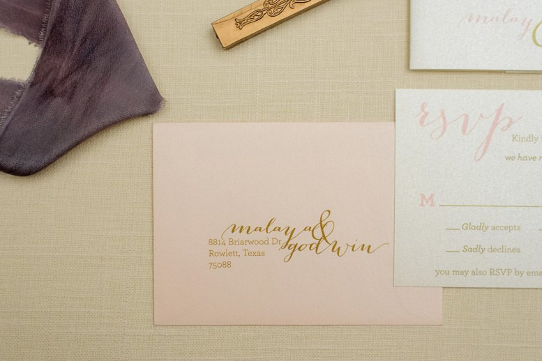 blush gold and navy invitations 2