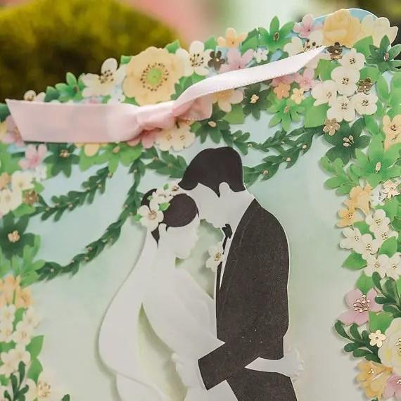 garden wedding invitations by paper bound love