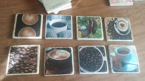 coffee theme coasters