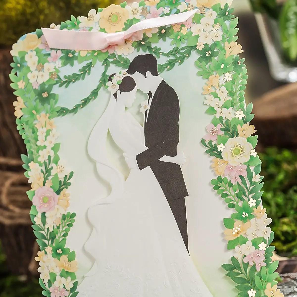 Garden Wedding Invitations | Emmaline Bride Wedding Blog