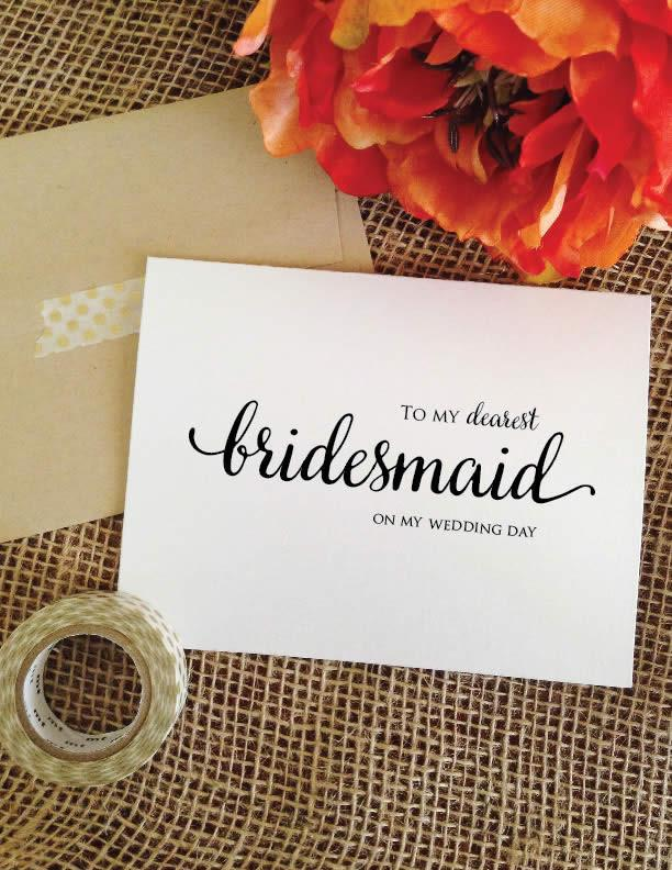 Cute wedding day cards for parents, siblings, best friend, groom, bride, etc. | via http://emmalinebride.com/gifts/wedding-day-cards-for-parents/