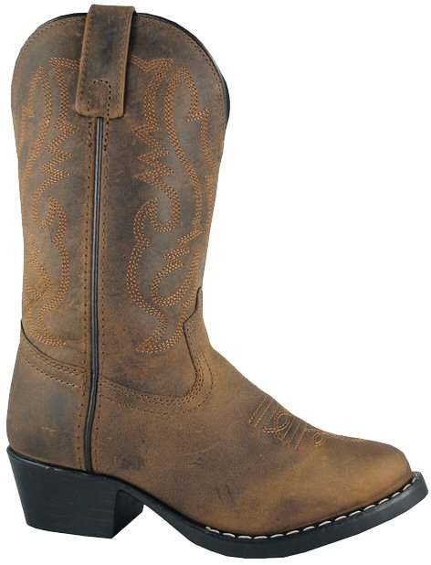 flower girl boots brown