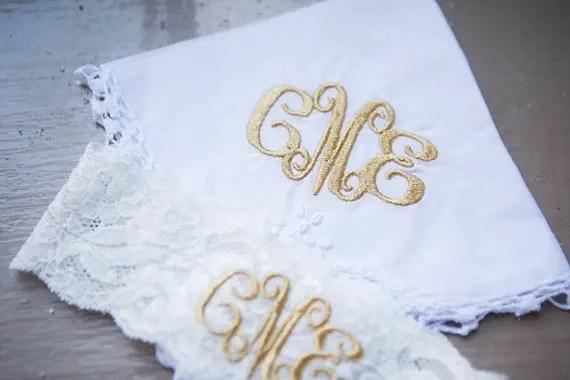 Where to Put Bridal Handkerchief at Wedding