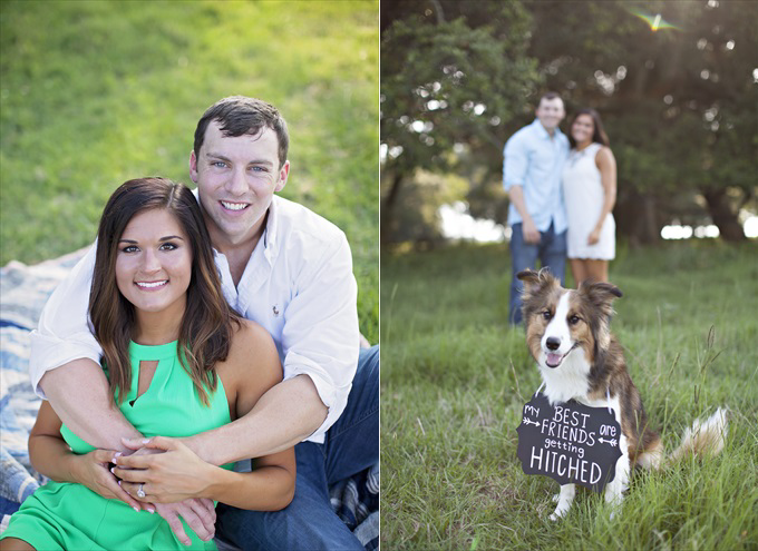 Grand Bay Engagement Session in Alabama | Wedding Photography by Stefani Marie Photography - http://emmalinebride.com/real-weddings/best-friends-getting-hitched-a-grand-bay-engagement-session/