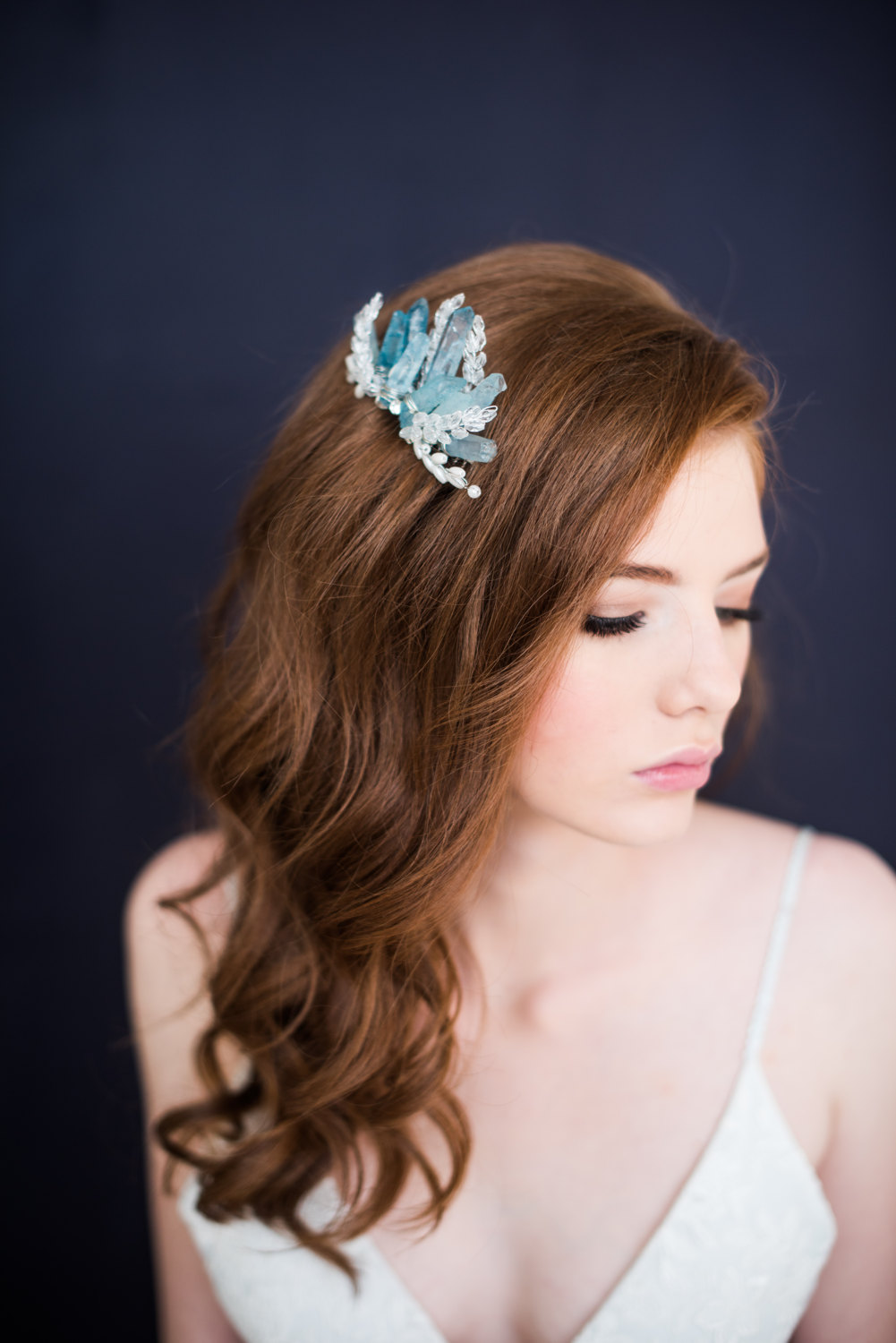 bridal hair accessories + hair down styles - tessa kim | emmaline bride
