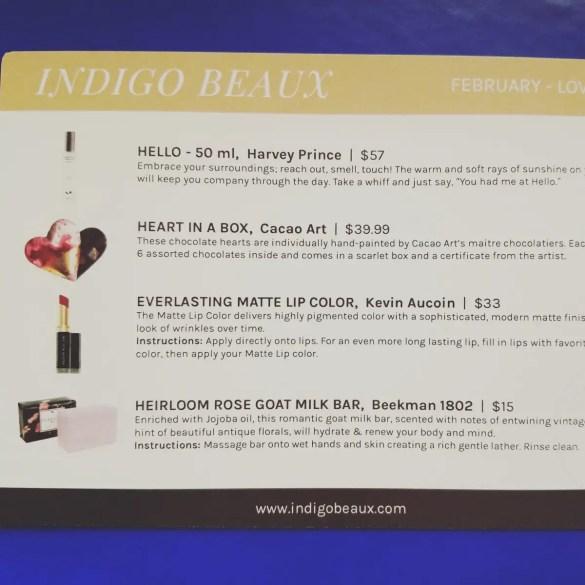 Luxury Gift Idea for the Bride: Indigo Beaux
