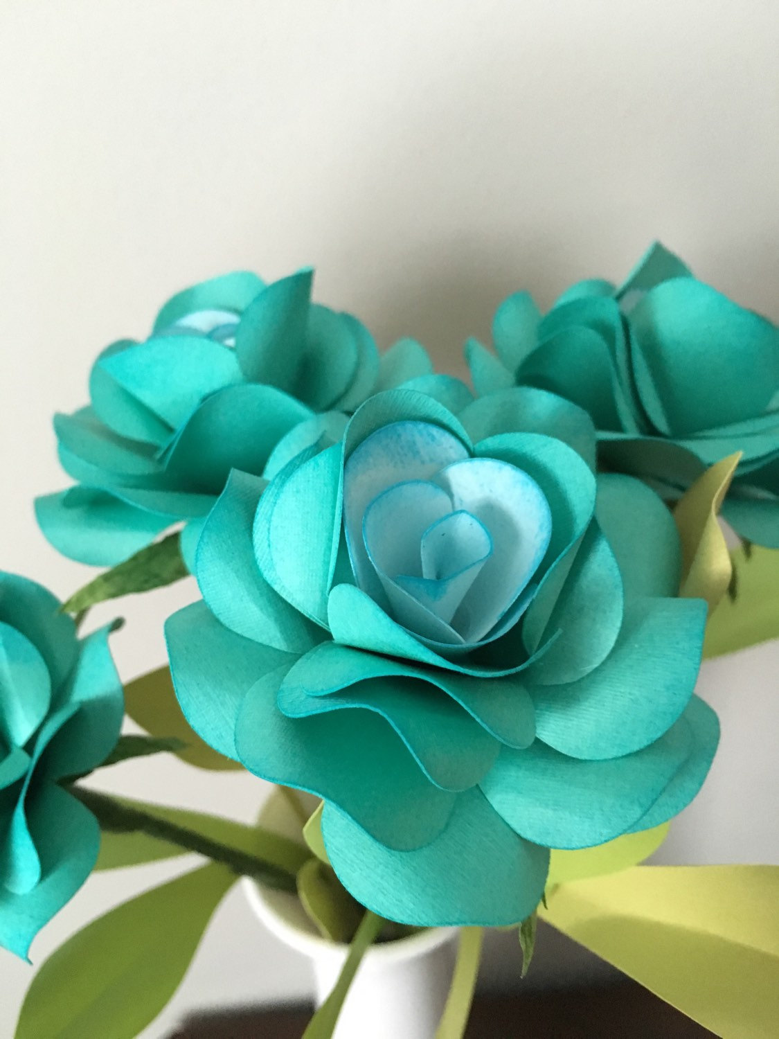 paper flower bouquets for weddings, backdrops, boutonnieres, paper flower decorations | by 2clvrdesigns on Etsy