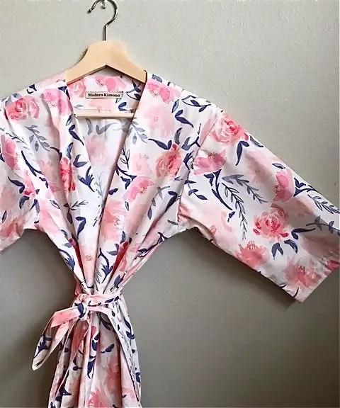 Beautiful Floral Bridesmaid Robe Sets
