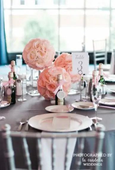 pink rose wedding ideas