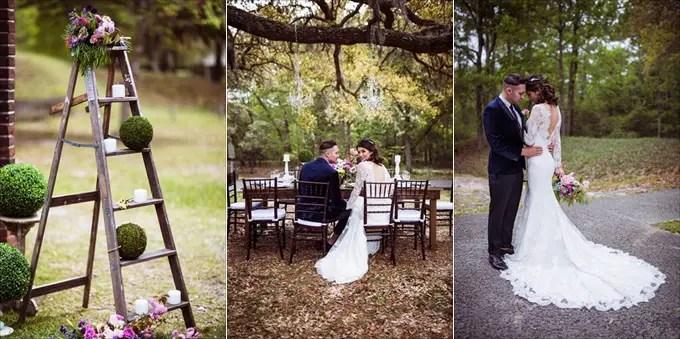 Secret Garden Wedding Inspiration | http://emmalinebride.com/real-weddings/secret-garden-wedding-inspiration/ | photo by Marcus Anthony Photography