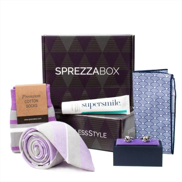subsciption box for men sprezza box 3