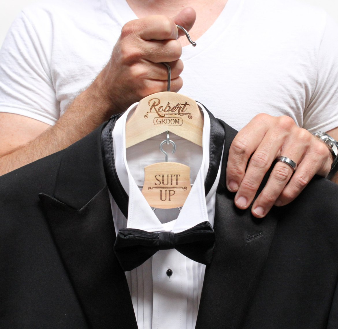 groom hanger personalized   http://etsy.me/2neyW3M