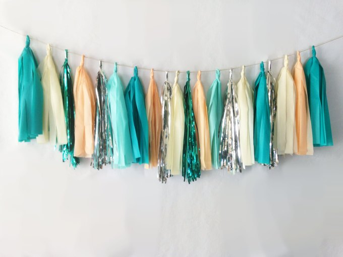 where to buy tassel garland for weddings and parties